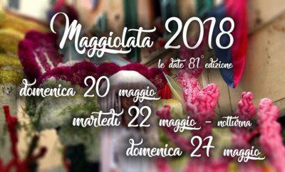 MAGGIOLATA LUCIGNANESE – 20-22-27 May 2018
